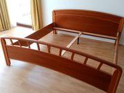 Doppelbett Kirsche massiv