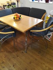 Eckbank Tisch 2 Stühle