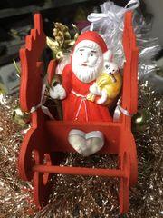 Deko Weihnachten Rosen Seife Säckchen