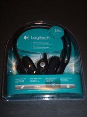NEU Logitech USB HeadSet H390