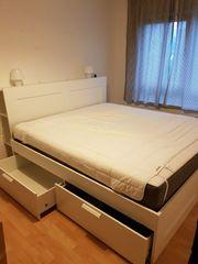 Brimnes Bett 180x200 inkl Kopfteil