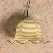 Vintage Glas Deckenlampe Murano Style
