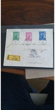 Liechtenstein Brief