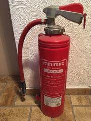 Alter Feuerlöscher Fabr Minimax ca
