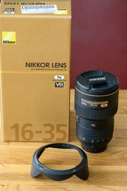 Nikon 16-35 4G