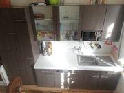 Einbauküche küchenzeile kücheninsel inkl Umluftherd