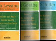 3 x 3 Klassiker Goethe