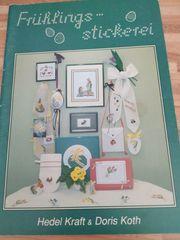 Frühlings Kreuzstich - Stickereien Anleitungen und