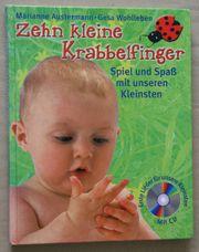 Zehn kleine Krabbelfinger Buch mit