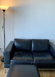 Ledersofa ARILD - IKEA inklusive passendem