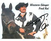 Fred Rai und Spitzbub - Autogrammkarte