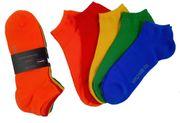5 Paar 5 Farben World-Wide-Sox
