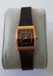 BERING Damen-Armbanduhr Analog Quarz Edelstahl