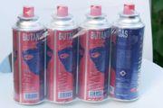 6 Butan Gas Kartuschen
