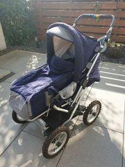 Teutonia Mistral Kinderwagen mit Softragetasche