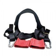 Lenkerbefestigungsgurt Set Nylon rot schwarz