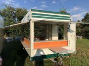 Imbiss Verkaufsanhänger Imbisswagen Streetfood mit