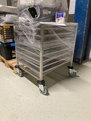 Verkauf Rollwagen mit Metall-Einsätzen