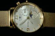Zeppelin Luna-Mondphase Armbanduhr 7639-4 Moon