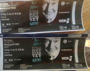 2x Stehplätze Phil Collins Konzert