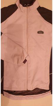 Walkingjacke rosa grau Gr S