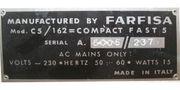 Farfisa Fast 3 Vintage Electric