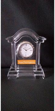 Nachtmann Tischuhr Bleikristall 24 neu