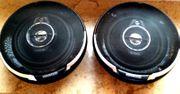 2 neue komplette Kenwood-Lautsprecher