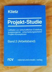 Arbeitsbuch Klietz Projekt-Studie Band 2