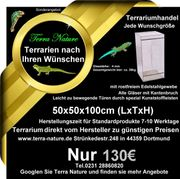 Terrarium 50x50x100cm LxTxH Terrarium Hersteller