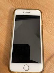 Iphone 8 mit Panzerglas und