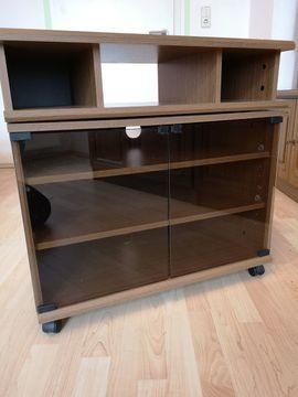 orginaler DDR Retro Beistelltisch / TV - Phonomöbel zu verkaufen
