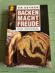 Kochbuch - BACKEN MACHT FREUDE