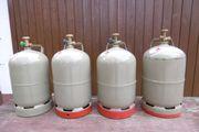4 x Propangasflaschen Gasflaschen Camping