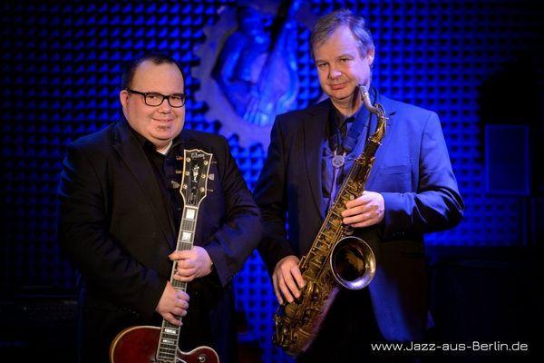 JazzDuo - Saxophon oder Kontrabass Gitarre