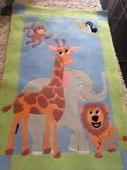 Kinderteppich Gardine Motiv Dschungel