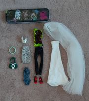 Monster High Kleidungs-Set Kleidung Hochzeitskleid