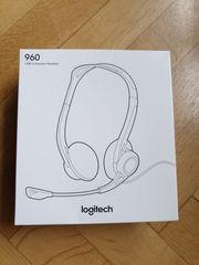Headset Logitech H960 USB 981-000100