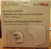 Dualband-WLAN-Repeater Access-Point und Router