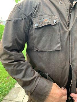 Motorradbekleidung Herren - Wachsjacke Sun Stuff Neu mit