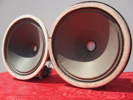 Vintage Paar Lautsprecher klangfilm Feldspulenhorn NOS KINO KLANG LAUTSPRECHER ampli
