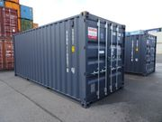 20 neue Seecontainer Lagercontainer in