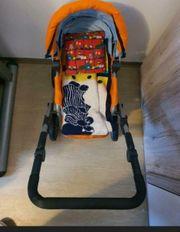 Kinder-Puppenwagen mit Zubehör