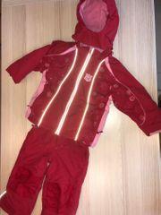 Ski-Anzug für Mädchen -rot- Gr