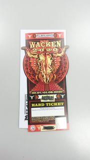 Hardticket Wacken 2020