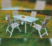 Gartenmöbel NEU Tisch und 4