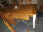 Esszimmertisch mit 8 Stühlen