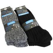 Norweger Socken schwarz Gr 39-42