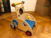 HABA 902 Holz Entdeckerwagen Lauflernwagen