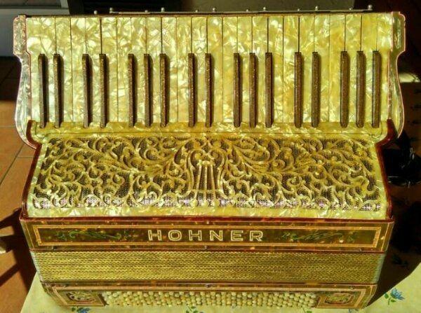 Akkordeon Hohner Nr 5555 - Bj